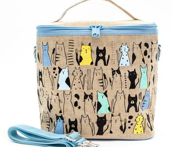 Boite à lunch So Young CURIOUS CATS LARGE COOLER BAG