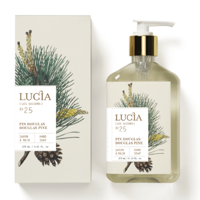 Lucia Savon à mains Pin Douglas de Lucia
