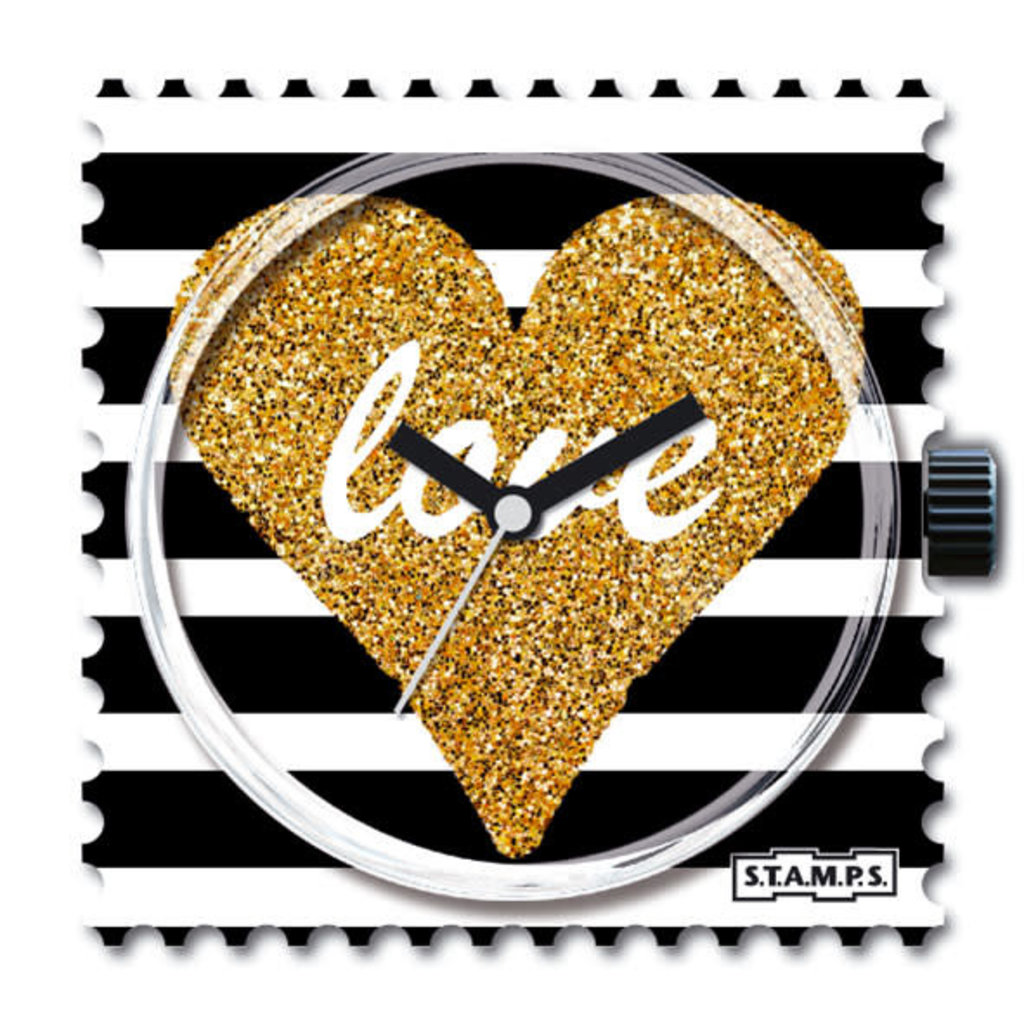 Montre Stamps Montre stamps shiny heart