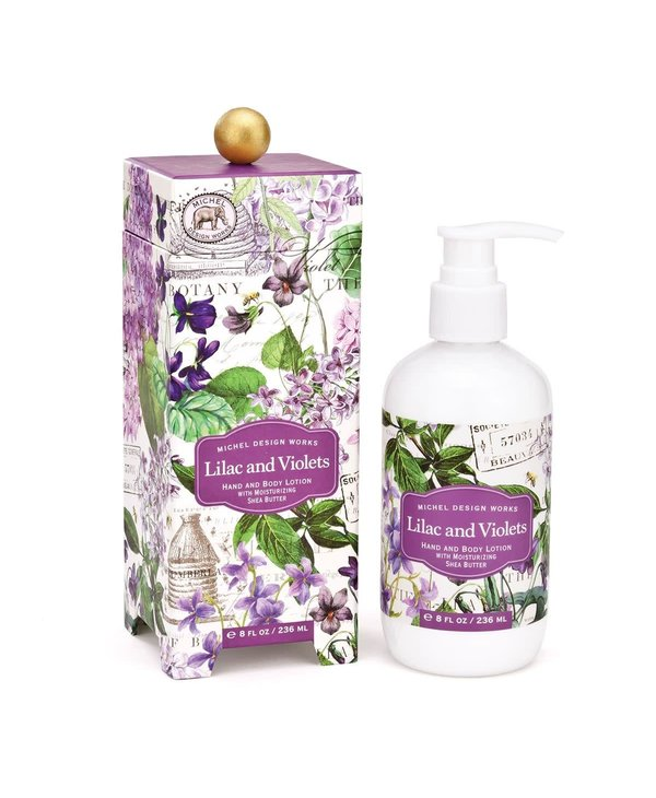 Body lotion Michel Design Works Lilac and Violets