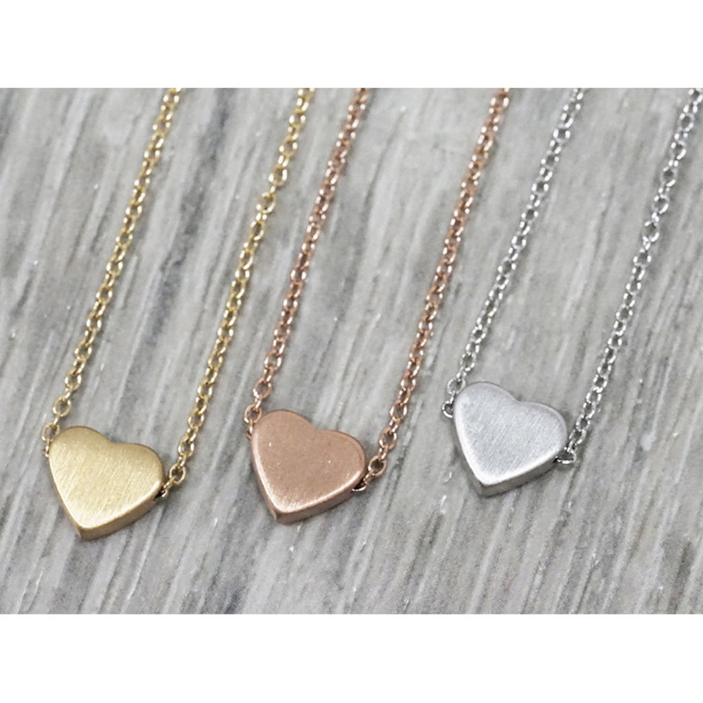 Collier Fab Accessories Coeur Argent