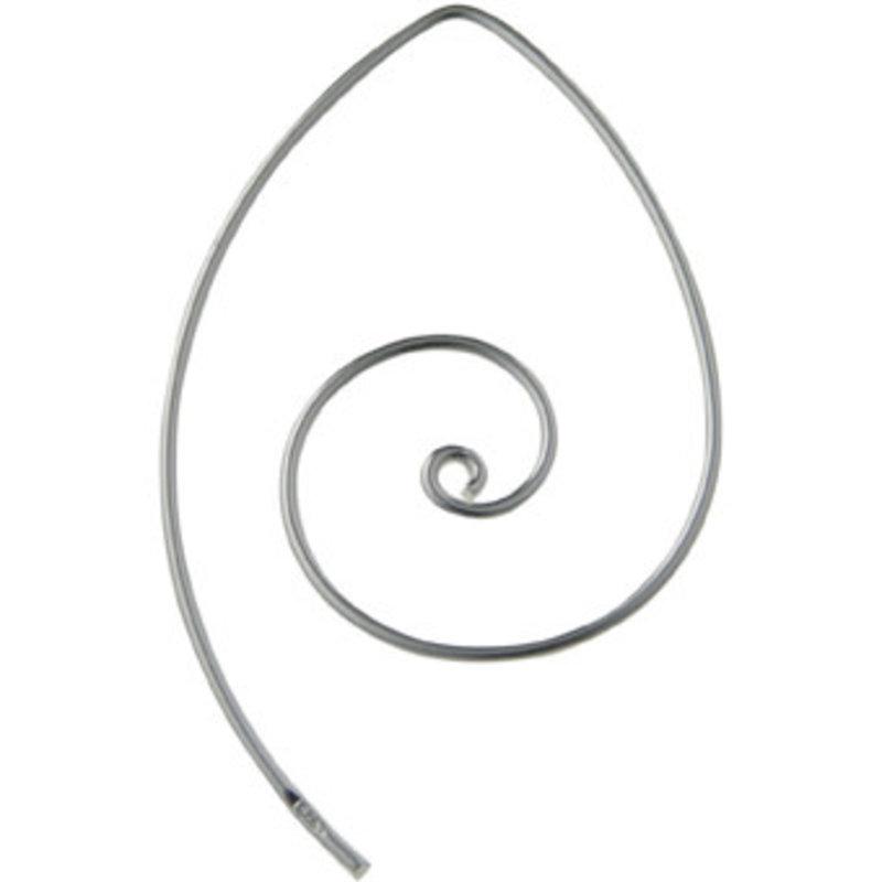 Boucle d'oreille Spirale D.S.A.