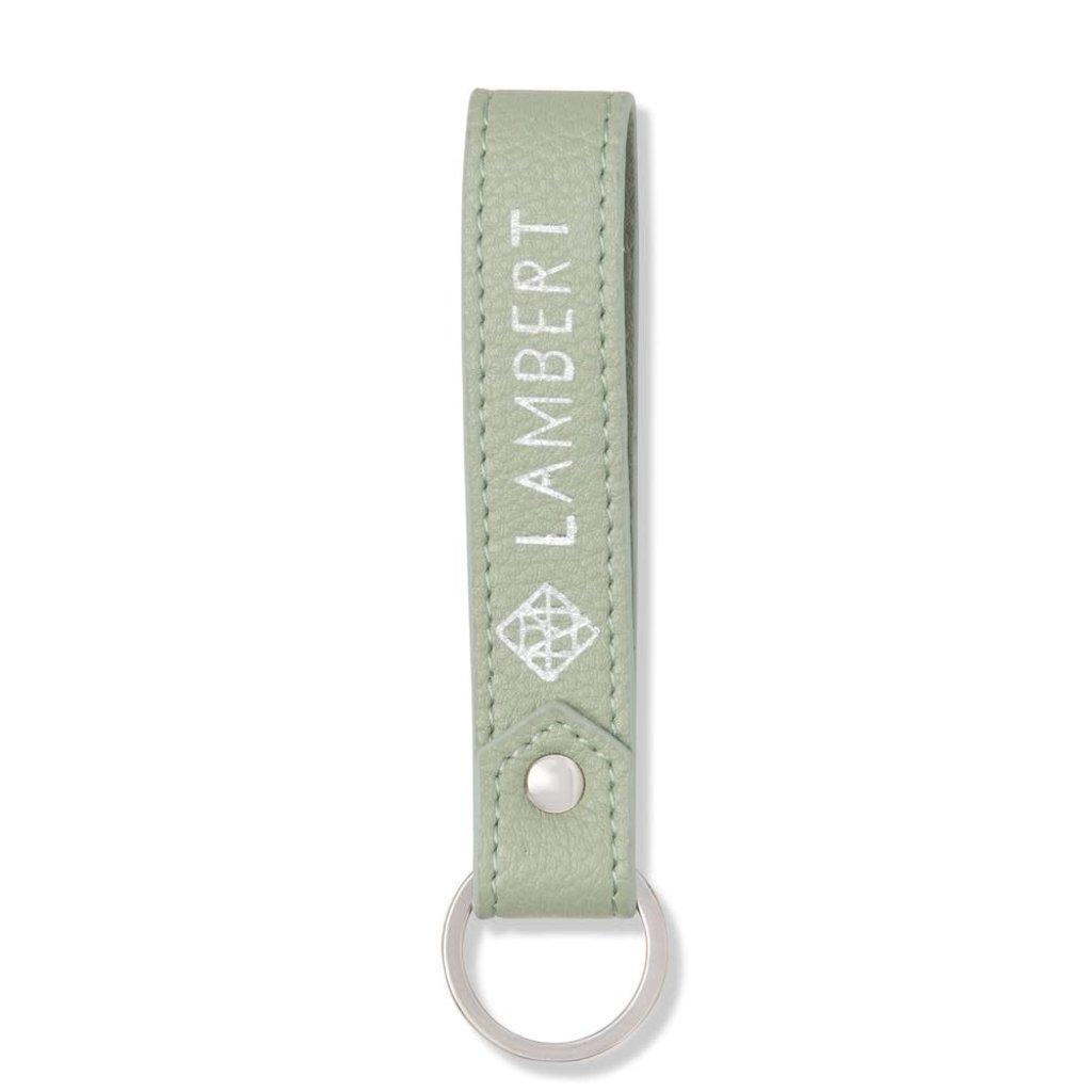 Lambert Porte-clés Lambert en cuir vegan Chloe Eucalyptus