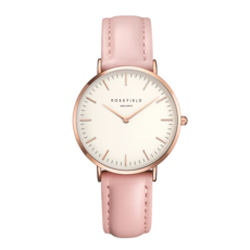 Rosefield Montre Rosefield The Bowery Blanc rose 38mm