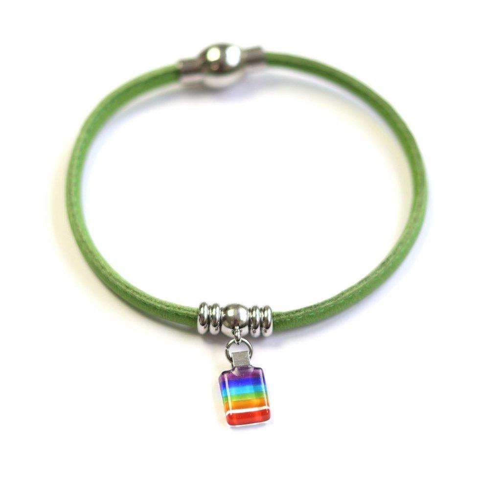 Cré-Art Bracelet Classique « Ça va bien aller »vert de Créart