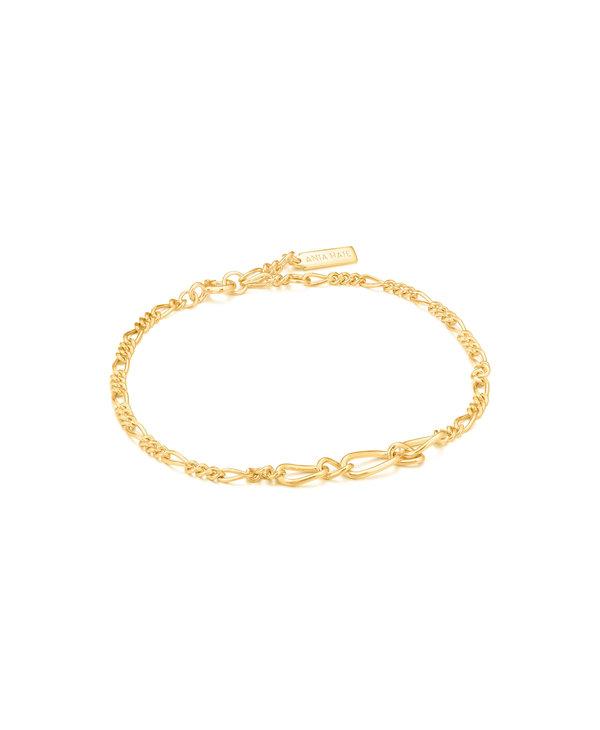 Bracelet Ania Haie Figaro Chain Bracelet Gold