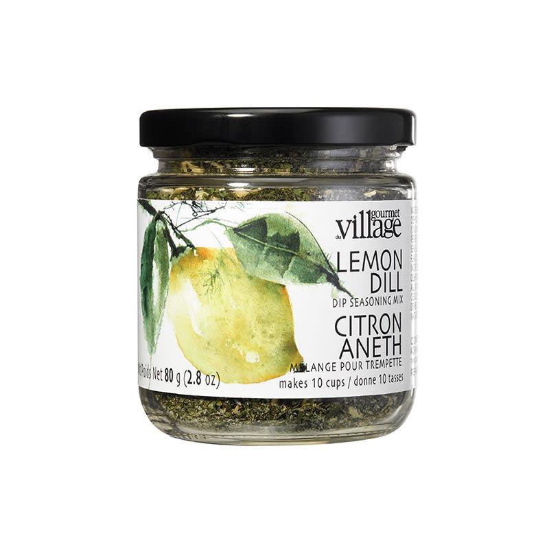 Gourmet du Village Mélange pour trempette citron aneth (90gr)