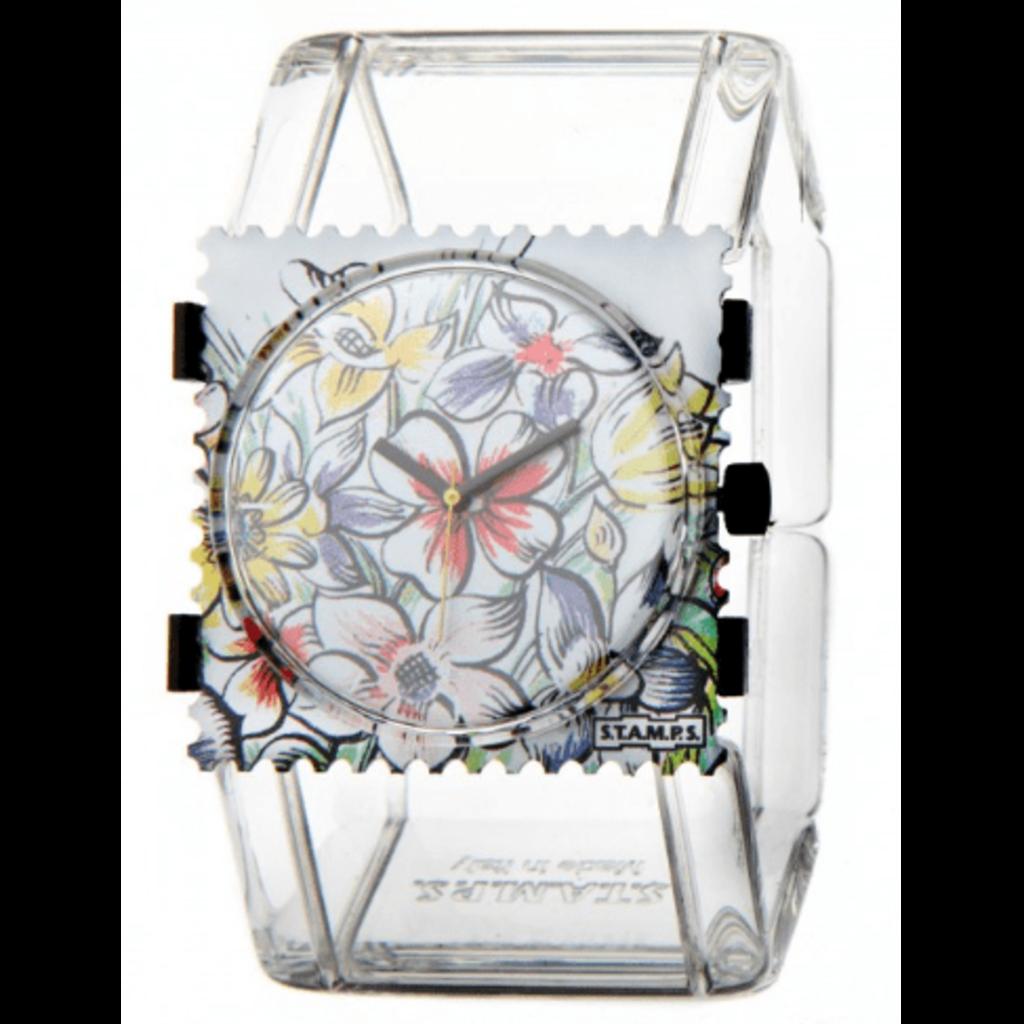 Montre Stamps Bracelet montre Stamps belta transparent