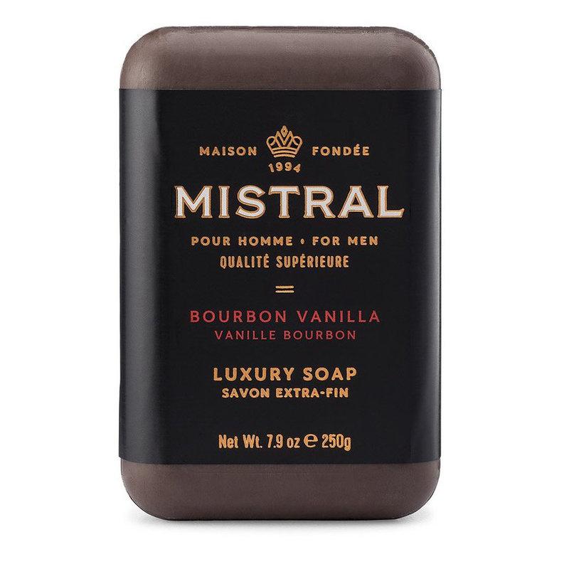 Mistral Barre de Savon Homme Mistral Vanille Bourbon 250g