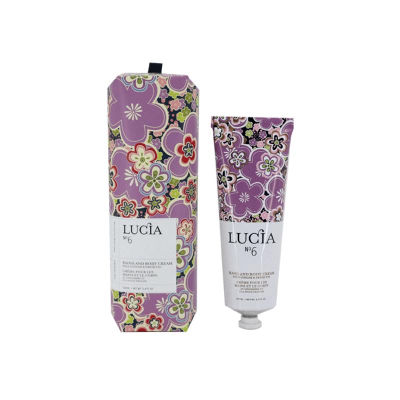 Lucia N°6 Crème pour les mains et le corps Figue fraîche et gingembre Lucia