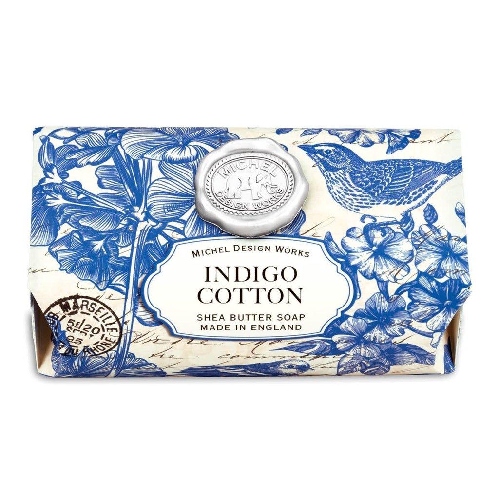Michel Design Works Savon en barre Michel Design Works Indigo Cotton