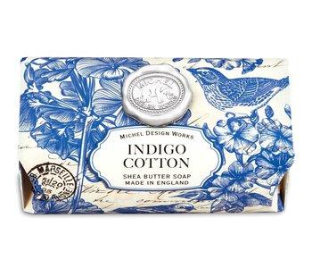 Savon en barre Michel Design Works Indigo Cotton