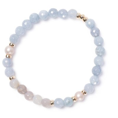 BeBlue Bracelet Beblue BE BRILLANT SURYA pastel céleste
