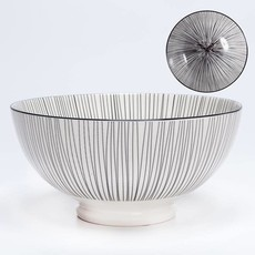 Torre & Tagus Bol de porcelaine Kiri 8'' Black Line