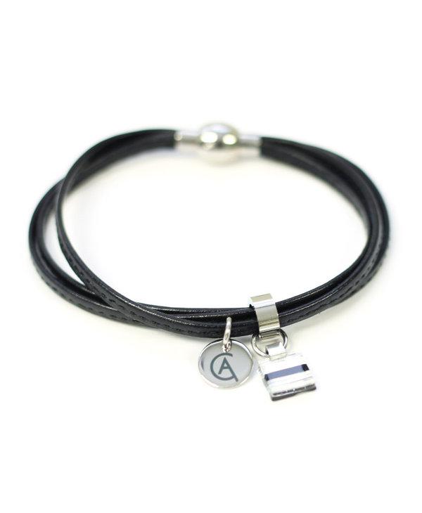 Bracelet Cré-Art Collection Daly Noir