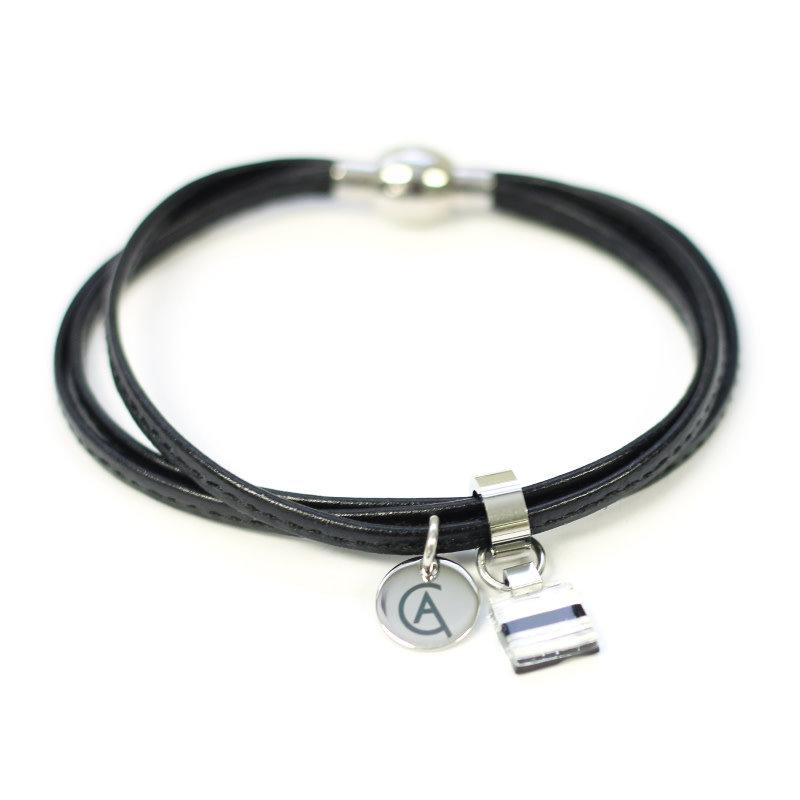 Cré-Art Bracelet Cré-Art Collection Daly Noir