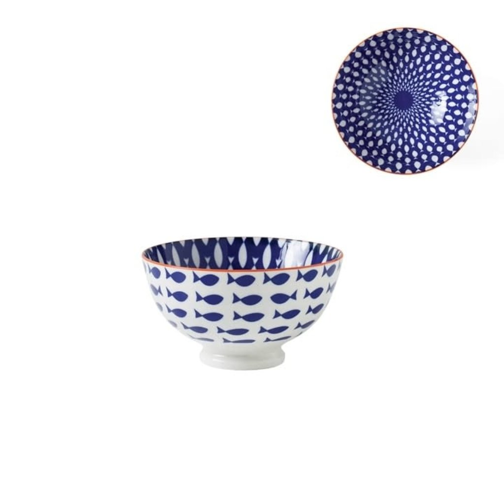 Torre & Tagus Bol de porcelaine Kiri 4.5 Fish