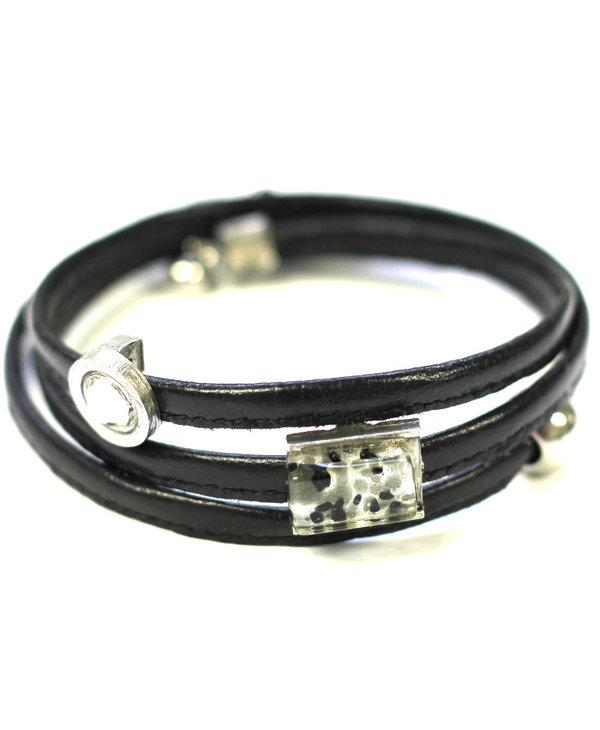 Bracelet Cré-Art Le Twist Noir