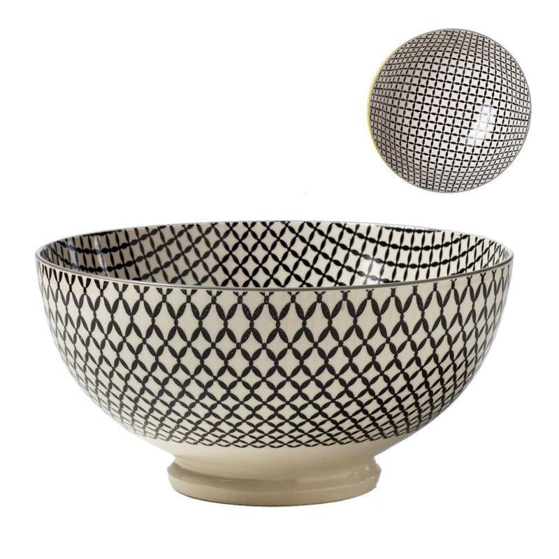 Torre & Tagus Bol de Porcelaine Kiri 8 Wicker Weave