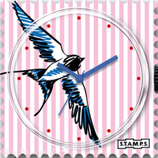 Montre Stamps MONTRE STAMPS Swallowed Stripes