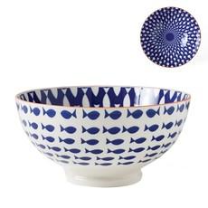 Torre & Tagus Bol de porcelaine Kiri 8'' Fish
