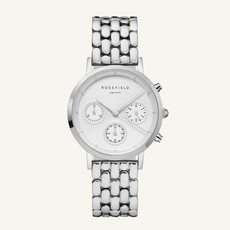 Rosefield Montre Rosefield N92 The Gabby White Silver