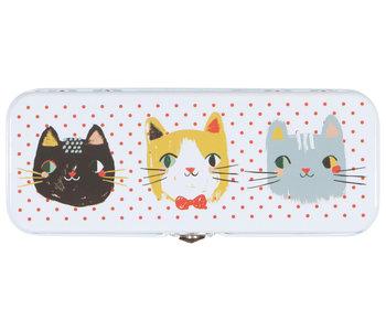 Boîte à crayons chats Meow Meow