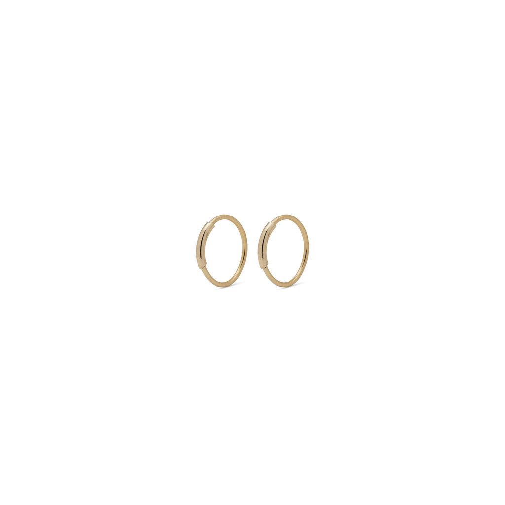 Pilgrim Mini anneaux Raquel Pilgrim 10 mm or