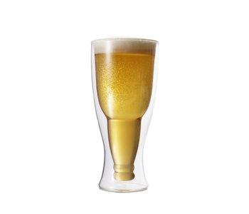 Double Verre Bière/Pilsner 350 ml ensemble de 2