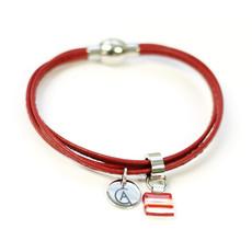Cré-Art Bracelet Cré-Art Collection Daly Rouge