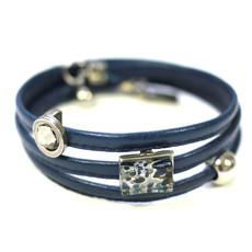 Cré-Art Bracelet Cré-Art Le Twist Bleu