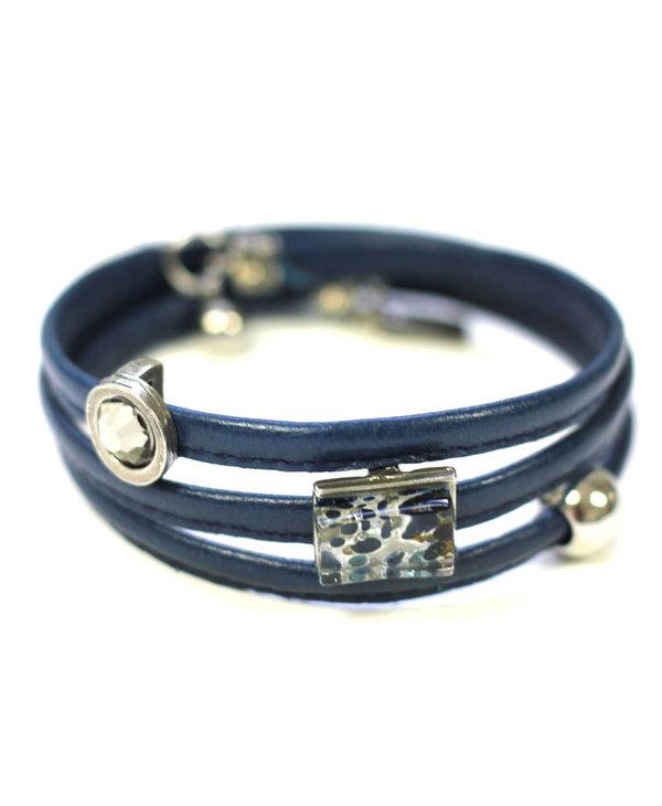 Bracelet Cré-Art Le Twist Bleu