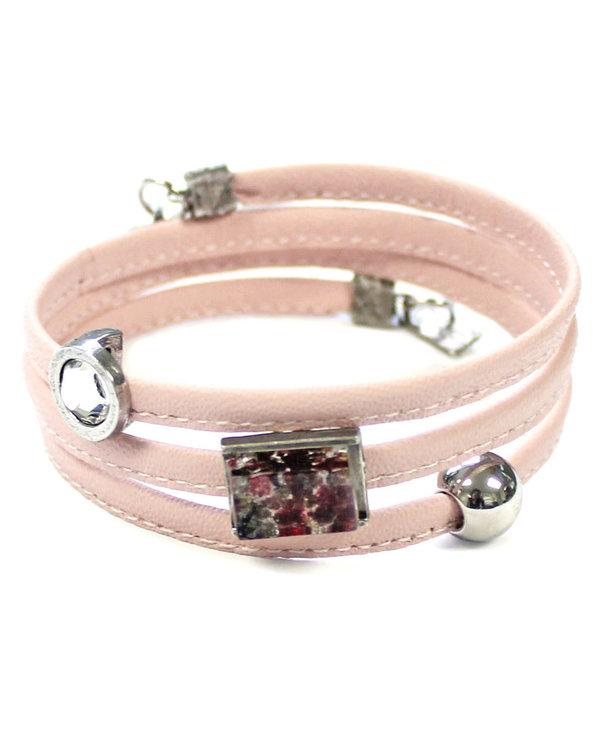 Bracelet Cré-Art Le Twist Rose