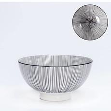 Torre & Tagus Bol de porcelaine Kiri 6'' Black Line