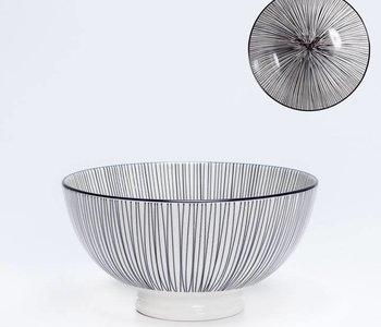 Bol de porcelaine Kiri 6'' Black Line