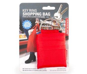 Sac de magasinage avec anneau pour les clés Kikkerland