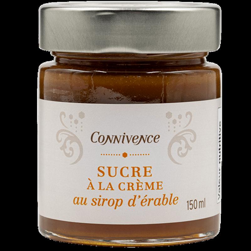 Connivence Sucre à la crème au sirop d'érable de Connivence