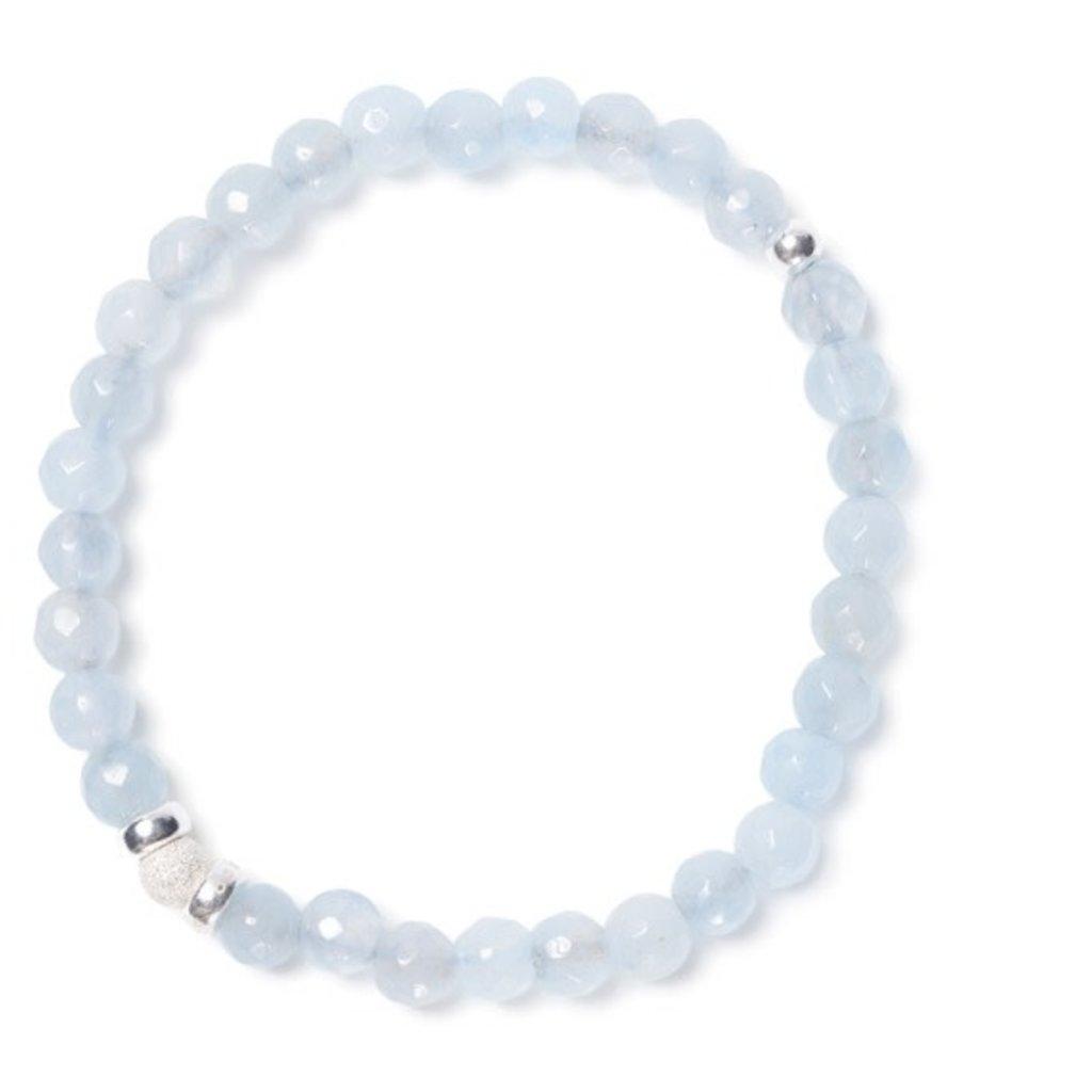 BeBlue Bracelet Beblue BE SMOOTH bleu ciel