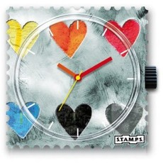 Montre Stamps Montre Stamps Collecting Hearts