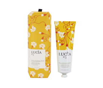 N°3 Crème pour les mains et le corps Feuille de thé et miel sauvage Lucia