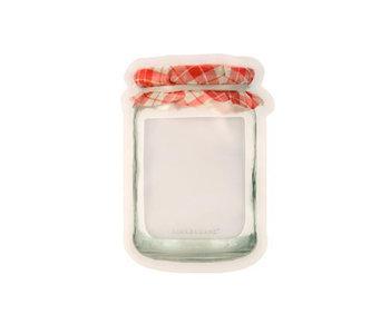 Ens. de 3 Jam Jar zipper bags de Kikkerland (500ml)