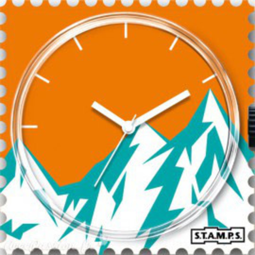 Montre Stamps MONTRE STAMPS Alpine