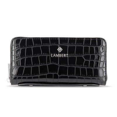 Lambert Portefeuille en cuir Vegan Lambert Méli Croco