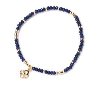 Bracelet Beblue BE SUBTLE SURYA bleu perse  BBSURSUB-PB