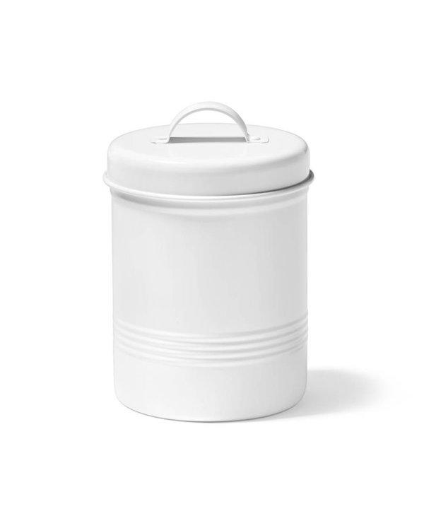 Contenant pour aliments en métal Blanc 3 Litres Ricardo