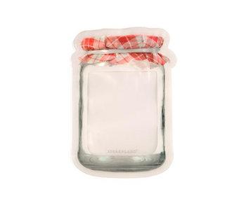 Ens. de 2 Jam Jar zipper bags de Kikkerland (1200ml)