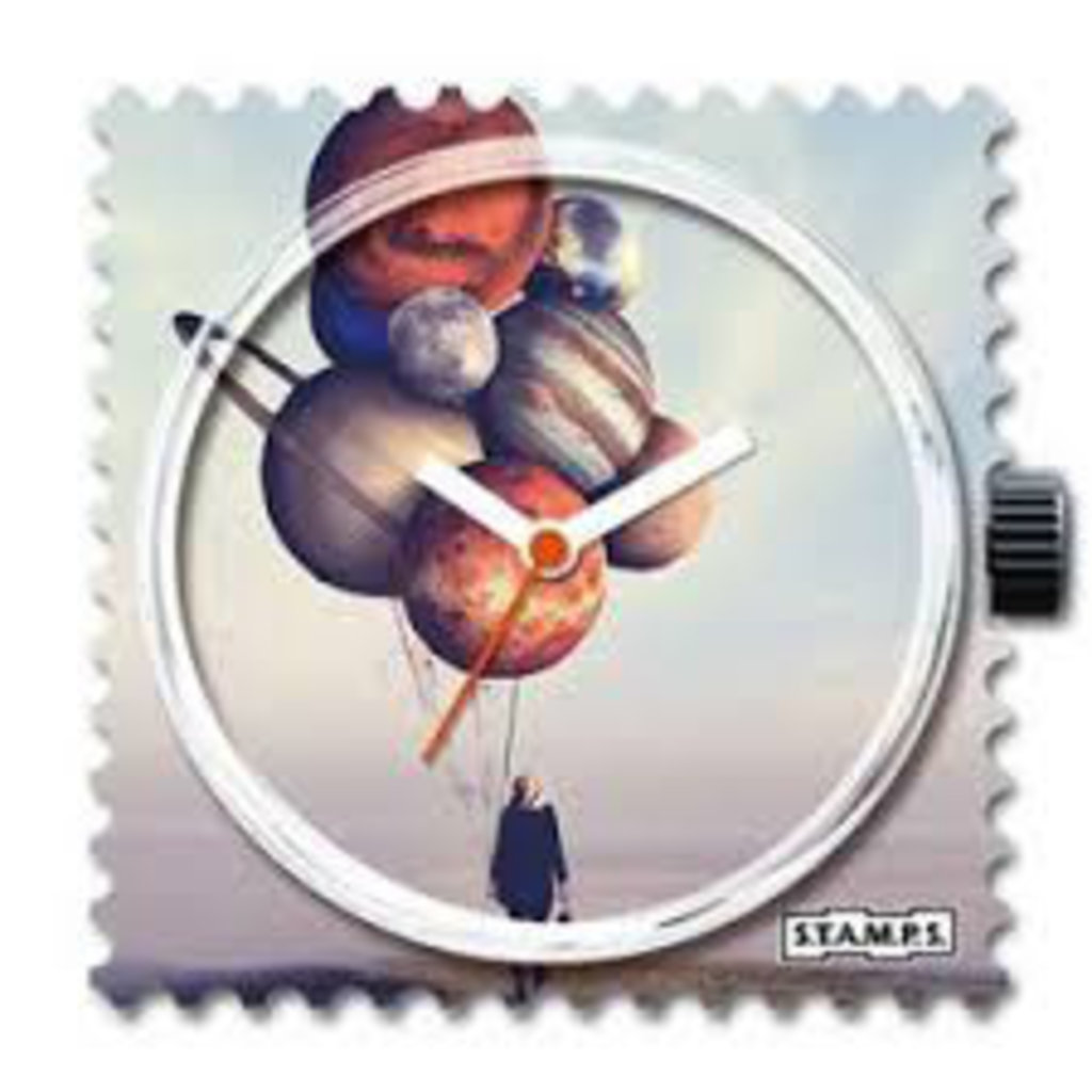 Montre Stamps MONTRE STAMPS Balloon Planets