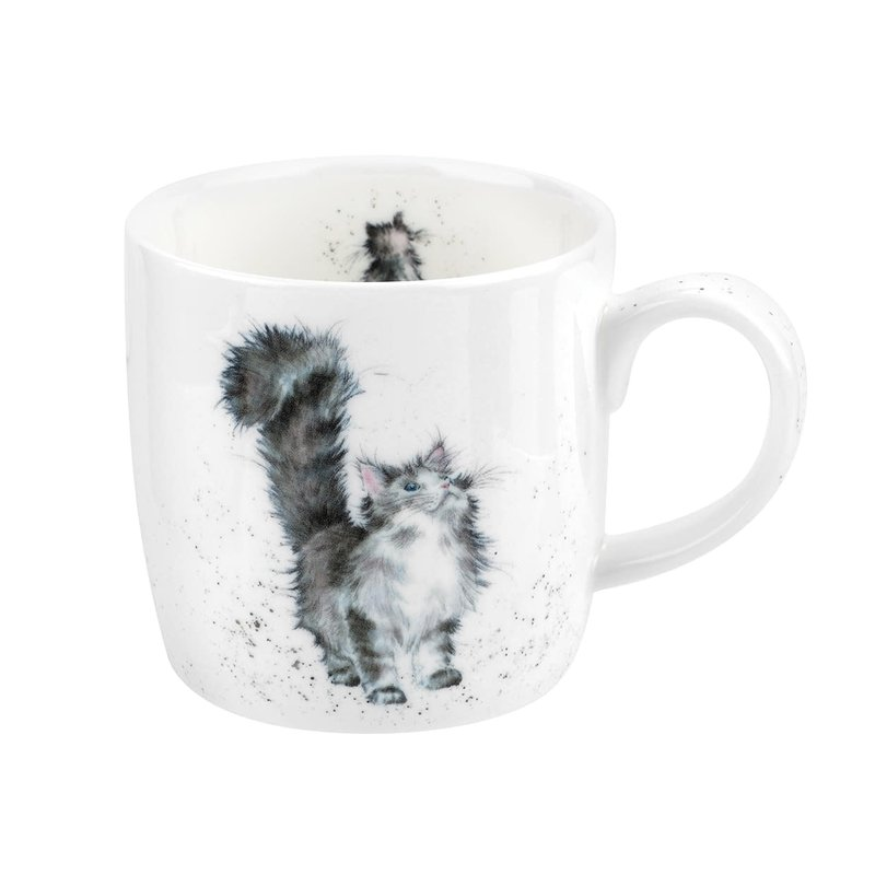 Wrendale Tasse Wrendale by royal worcester Lady of the house Cat