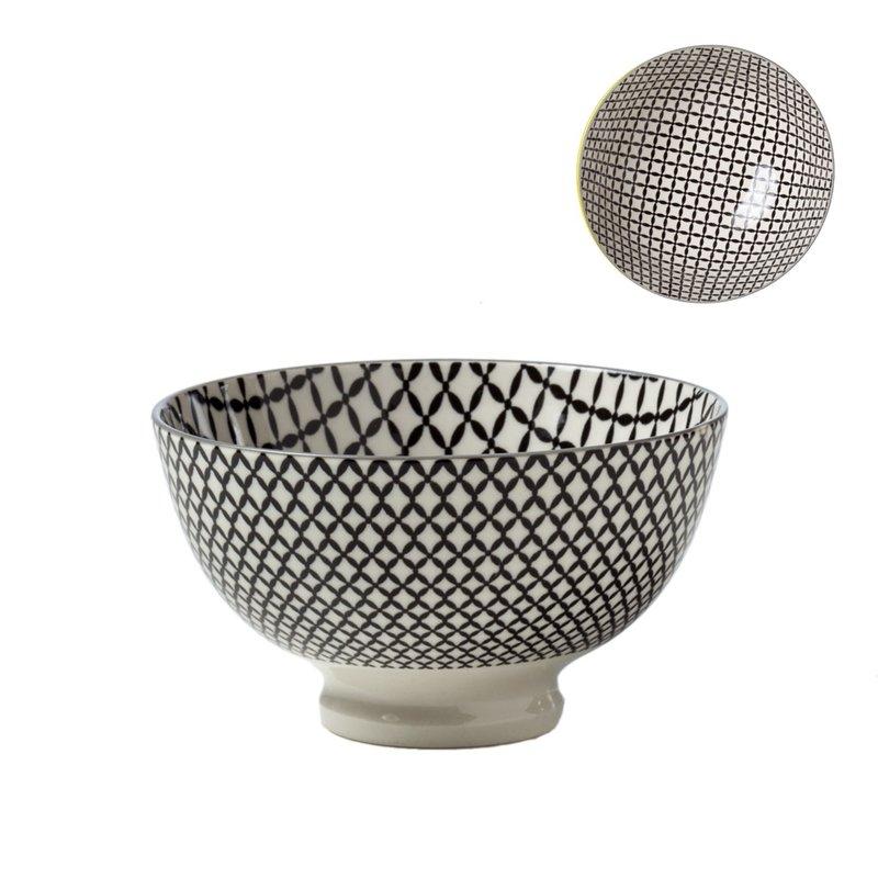 Torre & Tagus Bol de Porcelaine Kiri 6 Wicker Weave