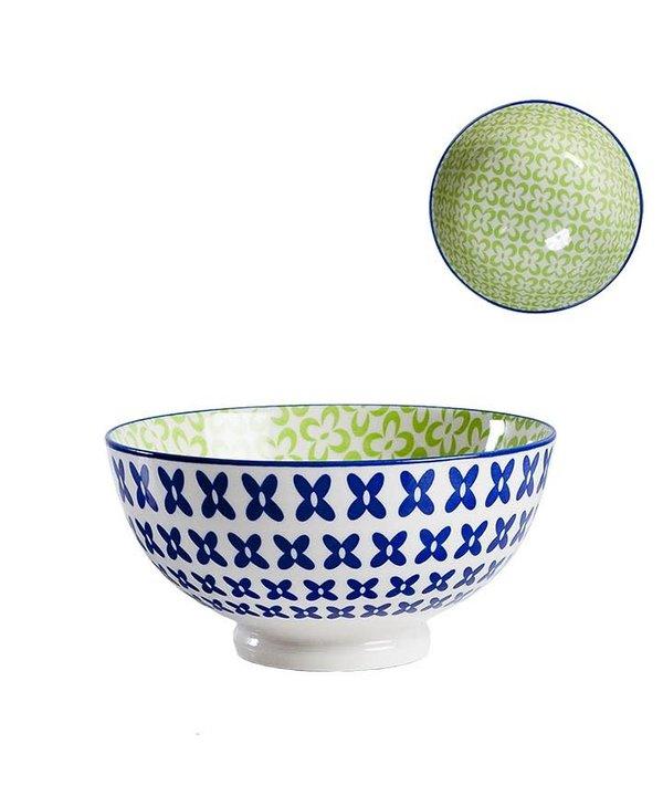 Bol de Porcelaine Kiri 6 Wicker Weave